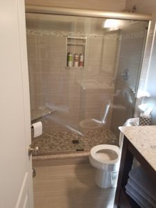 Thome Plumbing bathroom remodeling services.