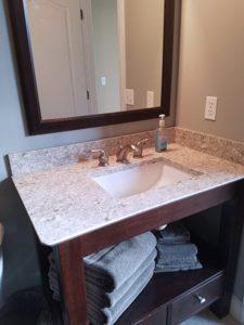 Thome Plumbing bathroom upgrade project.