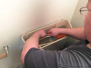 Thome Plumbing toilet repair services.