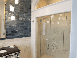 Thome Plumbing high end shower remodel.