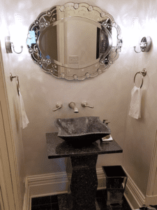 Thome Plumbing high end sink remodeling services.