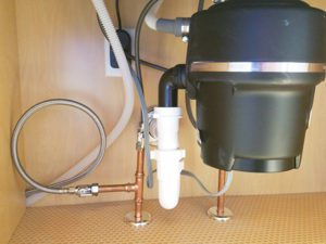 Thome plumbing garbage disposal and kitchen plumbing services.