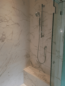 Thome Plumbing custom shower remodeling services.