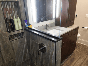 Thome Plumbing shower remodel.