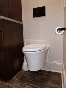 Thome Plumbing bathroom toilet installation and remodeling services.