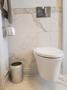 Thome Plumbing wall mount toilet installation.